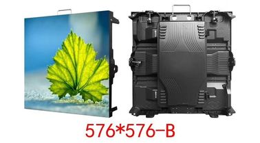P3 Led Display Cabinet 576x576mm Dengan Topeng Kinglight Led Chip Indoor / Semi Outdoor